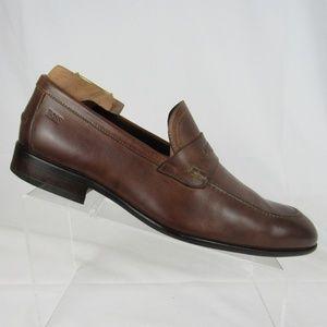 e02f093729e Hugo Boss Shoes - Hugo Boss  Bront  loafer made in Italy ...